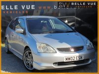 2002 HONDA CIVIC 2.0 TYPE-R 3d 200 BHP £3995.00