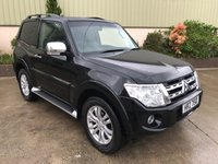 2014 MITSUBISHI SHOGUN 3.2 DI-D 4WORK WARRIOR 1d 197 BHP £SOLD