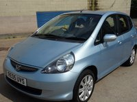 USED 2005 05 HONDA JAZZ 1.3 DSI SE 5d AUTO 82 BHP SERVICE RECORD +  MOT FEBRUARY 2019 +  ALLOY WHEELS +  AIR CONDITIONING +