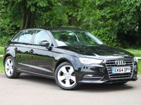 USED 2014 64 AUDI A3 1.4 TFSI SPORT 5d 124 BHP £204 PCM With £1239 Deposit