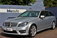 2013 MERCEDES-BENZ C 180 1.8 BLUE EFFICIENCY AMG SPORT 5d AUTO 154 BHP £13780.00