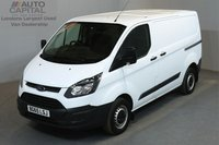 USED 2015 65 FORD TRANSIT CUSTOM 2.2 290 99 BHP L1 H1 SWB LOW ROOF    ONE OWNER FROM NEW, MOT UNTIL 14/12/2018