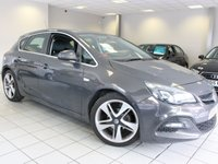 2014 VAUXHALL ASTRA 1.6 115 BHP LIMITED EDITION 5d £7985.00