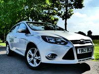 USED 2013 62 FORD FOCUS 1.6 ZETEC ECONETIC TDCI 5d 104 BHP £0 Tax Bluetooth and lots more