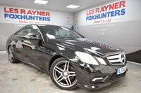 2010 MERCEDES-BENZ E CLASS 2.1 E220 CDI BLUEEFFICIENCY SPORT 2d AUTO 170 BHP £9999.00