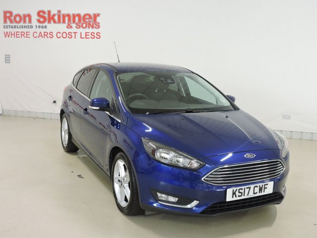View our 2017 17 FORD FOCUS 1.5 TITANIUM TDCI 5d 118 BHP