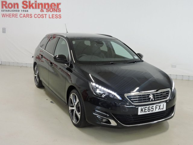 View our 2016 65 PEUGEOT 308 1.6 BLUE HDI S/S SW GT LINE 5d 120 BHP