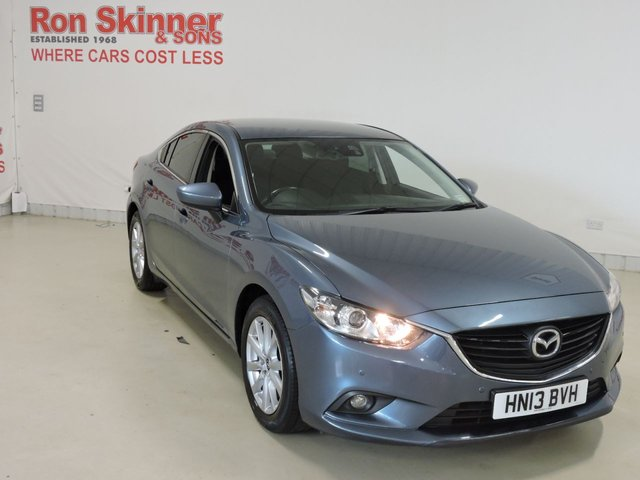 View our 2013 13 MAZDA 6 2.0 SE-L 4d 143 BHP