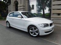 2011 BMW 1 SERIES 2.0 116D SPORT 3d 114 BHP £6995.00