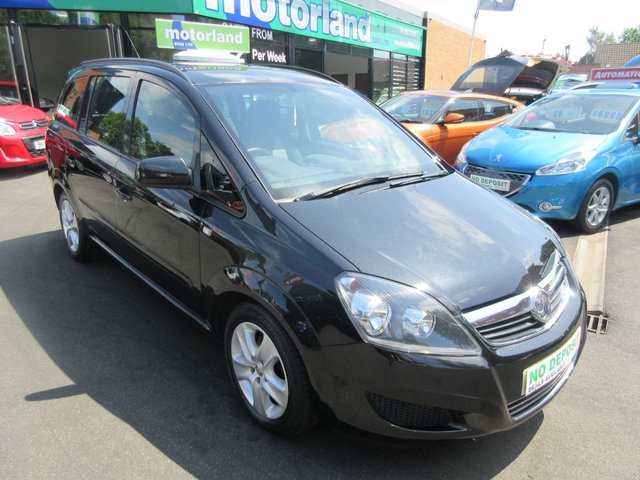 USED 2013 13 VAUXHALL ZAFIRA 1.6 EXCLUSIV 5d 113 BHP JUST ARRIVED PLEASE CALL 01543 379066