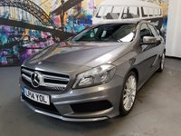 USED 2014 14 MERCEDES-BENZ A-CLASS 2.1 A200 CDI AMG SPORT 5d 136 BHP