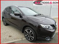 USED 2016 16 NISSAN QASHQAI 1.6 DCI TEKNA XTRONIC 5dr AUTO 130 BHP *TOP SPECIFICATION MODEL* *ONLY 13000 MILES WITH NISSAN WARRANTY UNTIL MARCH 2019*