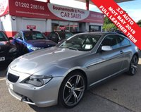 USED 2005 55 BMW 6 SERIES 3.0 630I 2d AUTO 255 BHP