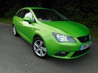 2015 SEAT IBIZA 1.4 TOCA 3d 85 BHP £7495.00