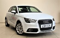 USED 2014 14 AUDI A1 1.4 TFSI SPORT 3d 122 BHP + ONLY 1 OWNER FROM NEW + MP3/CD