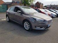 2015 FORD FOCUS 1.6 TITANIUM 5d AUTO 124 BHP £10795.00