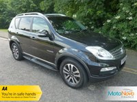 USED 2014 64 SSANGYONG REXTON 2.0 EX 5d AUTO 153 BHP Fantastic Value Seven Seat Top Spec Ssangyong Rexton EX with Automatic Gearbox, Full Grey Leather, Climate Control, Cruise Control, Alloy Wheels and Service History