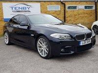 2011 BMW 5 SERIES 2.0 520D M SPORT 4d AUTO 181 BHP £11489.00