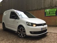 USED 2014 64 VOLKSWAGEN CADDY 1.6 C20 TDI STARTLINE 1d 101 BHP FULL S/HISTORY, 1 OWNER, RECENT MAIN DEALER SERVICE,  BLACK ROOF, CARBON BODYKIT, NEW 18 INCH WHEELS,