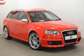2007 AUDI RS4 AVANT 4.2 QUATTRO 5d 420 BHP