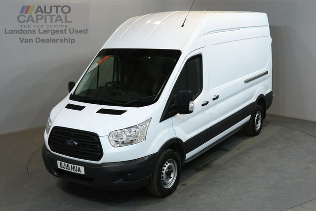 2015 15 FORD TRANSIT 2.2 350 124 BHP L3 H3 LWB HIGH ROOF ONE OWNER FROM NEW, MOT UNTIL 29/06/2019