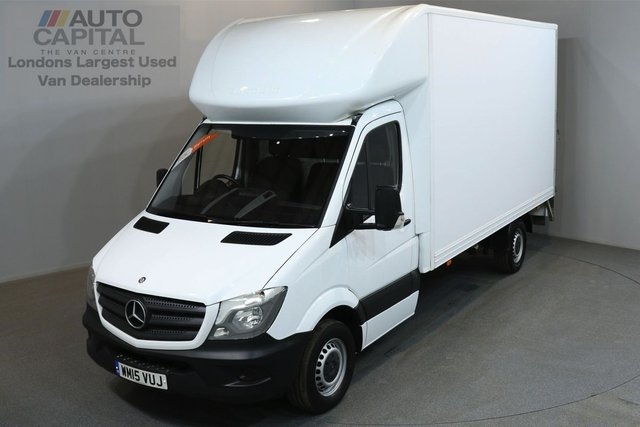 2015 15 MERCEDES-BENZ SPRINTER 2.1 313 129 BHP LWB LUTON VAN ONE OWNER FROM NEW, MOT UNTIL 6/06/2019