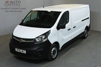 USED 2015 15 VAUXHALL VIVARO 1.6 2900 114 BHP L2 H1 LWB LOW ROOF ONE OWNER FROM NEW, MOT UNTIL 13/06/2019