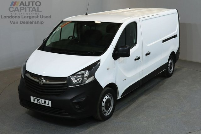 2015 15 VAUXHALL VIVARO 1.6 2900 114 BHP L2 H1 LWB LOW ROOF ONE OWNER FROM NEW, MOT UNTIL 13/06/2019
