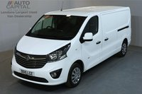 USED 2015 15 VAUXHALL VIVARO 1.6 2900 SPORTIVE 114 BHP L2 H1 LWB LOW ROOF A/C ONE OWNER FROM NEW, L2 H1