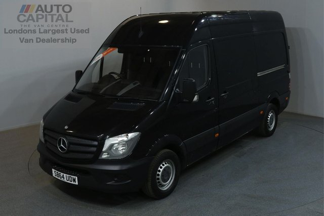 2014 64 MERCEDES-BENZ SPRINTER 2.1 313 129 BHP MWB HIGH ROOF ONE OWNER FROM NEW, MOT UNTIL 30/12/2018