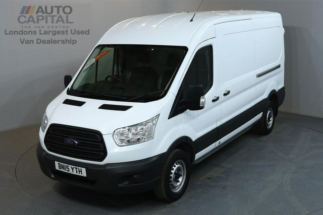 2015 15 FORD TRANSIT 2.2 350 124 BHP L3 H2 LWB MEDIUM ROOF