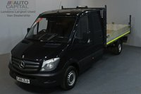 USED 2015 65 MERCEDES-BENZ SPRINTER 2.1 313 CDI 129 BHP MWB TIPPER 2 OWNER FROM NEW, MOT UNTIL 10/09/2018