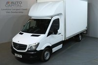 USED 2015 65 MERCEDES-BENZ SPRINTER 2.1 313 CDI 129 BHP LWB  LUTON VAN ONE OWNER FROM NEW