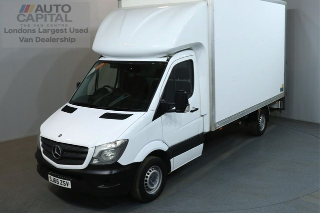 2015 65 MERCEDES-BENZ SPRINTER 2.1 313 CDI 129 BHP LWB  LUTON VAN ONE OWNER FROM NEW