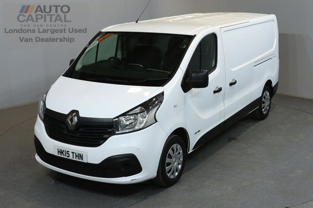 2015 15 RENAULT TRAFIC 1.6 LL29 BUSINESS PLUS 115 BHP L2 H1 LWB LOW ROOF A/C SAT NAV