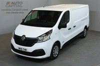 USED 2015 15 RENAULT TRAFIC 1.6 LL29 BUSINESS PLUS 115 BHP L2 H1 LWB LOW ROOF A/C SAT NAV ONE OWNER FROM NEW, AIR CONDITION, SAT NAV