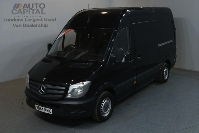 2014 64 MERCEDES-BENZ SPRINTER 2.1 313 CDI 129 BHP MWB HIGH ROOF ONE OWNER FROM NEW