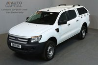 USED 2015 15 FORD RANGER 2.2 XL 4X4 148 BHP  ONE OWNER FROM NEW, MOT UNTIL 13/06/2019