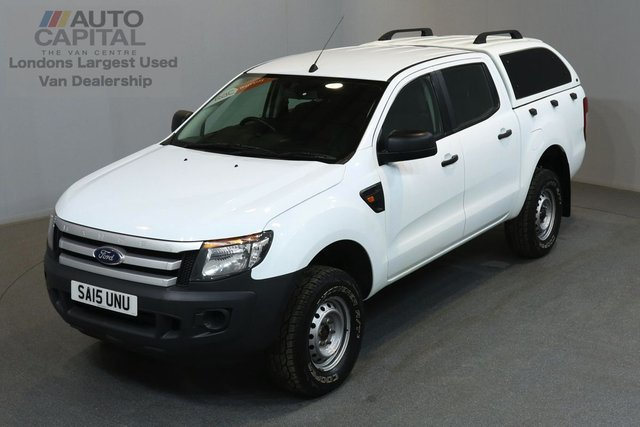 2015 15 FORD RANGER 2.2 XL 4X4 148 BHP  ONE OWNER FROM NEW, MOT UNTIL 13/06/2019