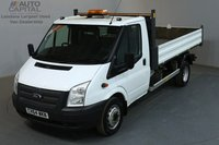 USED 2014 64 FORD TRANSIT 2.2 460 M 153 BHP L3 LWB TIPPER GROSS WEIGHT 4600 KG ONE OWNER FROM NEW,  GROSS VEHICLE WEIGHT 4600 (KG)