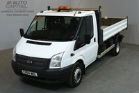 USED 2014 64 FORD TRANSIT 2.2 460 M 153 BHP L3 LWB TIPPER GROSS WEIGHT 4600 KG ONE OWNER FROM NEW, FULL SERVICE HISTORY