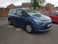 USED 2016 16 CITROEN C4 GRAND PICASSO 1.6 BLUEHDI VTR PLUS 5d 118 BHP 7 SEATER VERY CHEAP TO RUN (BLUE ECO MODEL) WITH LOW CO2 EMISSIONS,£20 ROAD TAX AND LOW ROAD TAX!! EXCELLENT SPECIFICATION INCLUDING CRUISE CONTROL, AIR CONDITIONING, AND PARKING SENSORS!
