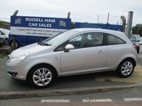 USED 2010 60 VAUXHALL CORSA 1.2 SE 3d 83 BHP 1 Former Keeper .4 Service History .New MOT & Full Service Done on purchase + 2 Years FREE Mot & Service Included After . 3 Months Russell Ham Quality Warranty . All Car's Are HPI Clear . Finance Arranged - Credit Card's Accepted . for more cars www.russellham.co.uk  - Spare Key . Owners Book Pack.