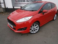 USED 2013 63 FORD FIESTA 1.0 ZETEC S 3dr