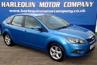 USED 2011 11 FORD FOCUS 1.6 ZETEC 5d 99 BHP HERE WE HAVE THIS SUPERB EXAMPLE OF THIS 2011 FORD FOCUS 1.6 Z-TEC 5 DOOR MANUAL IN  VISION BLUE METALLIC ALLOYS AIR CON FULL SERVICE HISTORY MUST BE SEEN