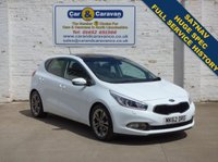 USED 2012 62 KIA CEED 1.6 4 TECH ECODYNAMICS 5d 133 BHP Full Service History Huge Spec 0% Deposit Finance Available
