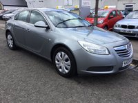 USED 2009 59 VAUXHALL INSIGNIA 1.8 EXCLUSIV 5d 140 BHP OUR  PRICE INCLUDES A 6 MONTH AA WARRANTY DEALER CARE EXTENDED GUARANTEE, 1 YEARS MOT AND A OIL & FILTERS SERVICE. 6 MONTHS FREE BREAKDOWN COVER.    CALL US NOW FOR MORE INFORMATION OR TO BOOK A TEST DRIVE ON 01315387070 !! !! LIKE AND SHARE OUR FACEBOOK PAGE !!