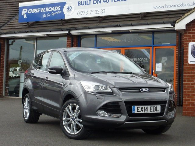 USED 2014 14 FORD KUGA 2.0 TITANIUM X TDCI 5dr (140) * Leather + Pan Roof + Bluetooth *