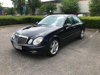2007 MERCEDES-BENZ E CLASS 3.0 E280 AVANTGARDE 4d AUTO 228 BHP £3991.00