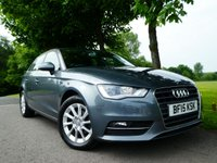 USED 2015 15 AUDI A3 1.6 TDI SE 5d 109 BHP Stunning Great value example